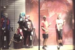Bewegte Schaufenster bei Museums- und Einkaufsnacht 2017